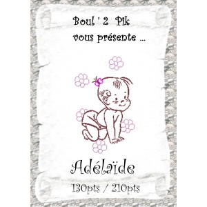 Adélaïde version papier