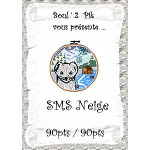 SMS Neige version papier