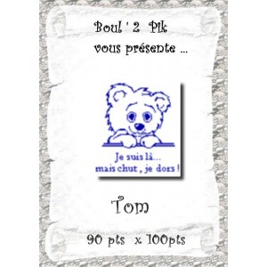 Tom  version papier