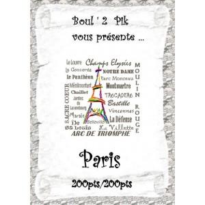 Paris  version papier
