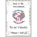 Be my Valentin  version papier