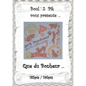Que du Bonheur ... version papier