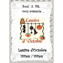 Lessive d'Octobre version papier