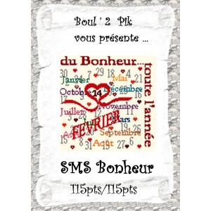 SMS Bonheur version papier