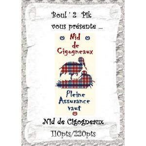 Nid de Cigogneaux   version papier
