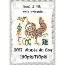 2017 Année du Coq
