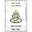 SMS Noël 2012
