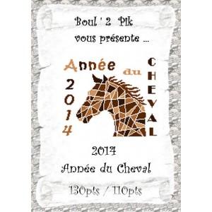 2014 Année du Cheval   version papier