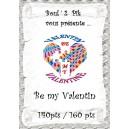 Be my Valentin  version papier